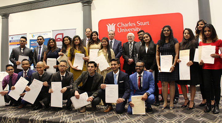Students recognised for excellence at 10th anniversary gala dinner